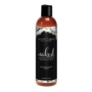 4oz Naked Massage Oil
