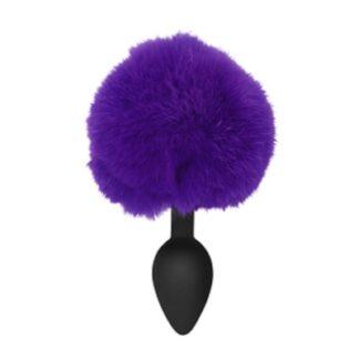 Purple Silicone Bunny Tail