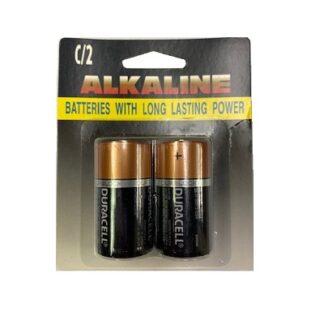 Duracell Battery C 2pk