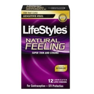 Lifestyles Ultra Thin Condoms, 12 pk