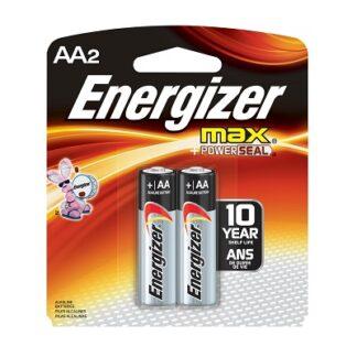 AA 2PK Energizer Batteries