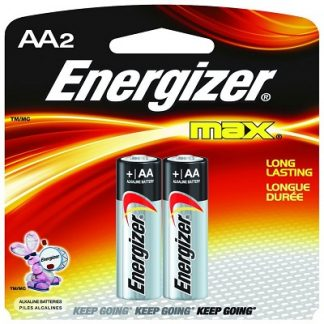 AA Energizer Battery, 2pk