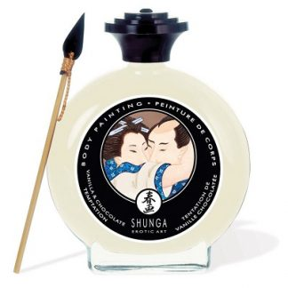 vanilla chocolate body paint shunga