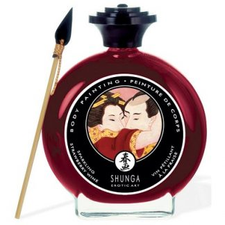 strawberry chocolate body paint shunga