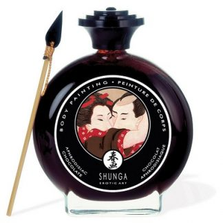 chocolate body paint shunga