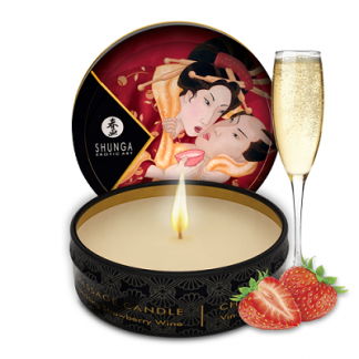 massage oil candle shunga