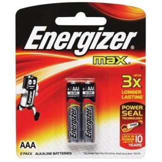 AAA Energizer Battery, 2pk