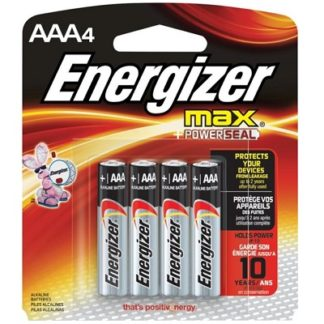 AAA Energizer Battery, 4pk