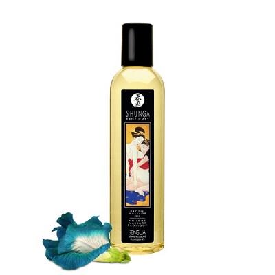 Erotic Massage Oil, Sensual Island Blossoms, Shunga